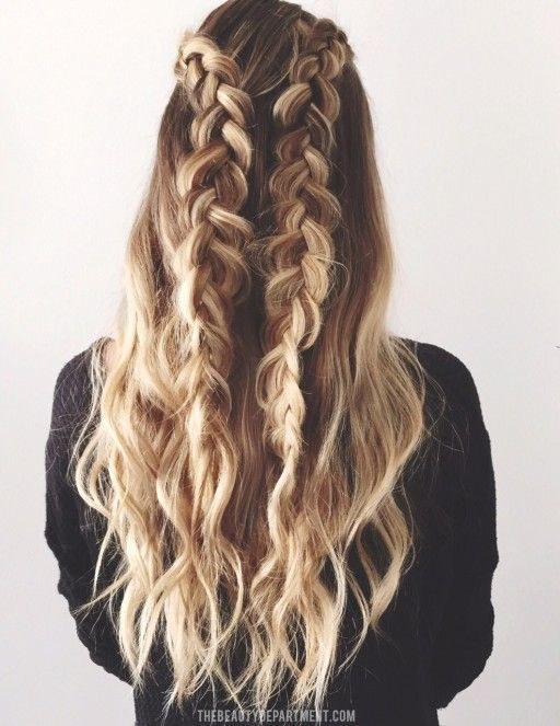 How To Do Dutch Braids | 9 Braided Hairstyles For Spring, check it out at makeup...