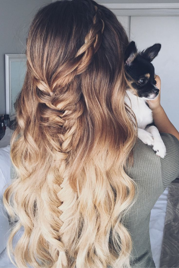 Braid Fishtail hairstyles for boho fashion pictures catalog photo