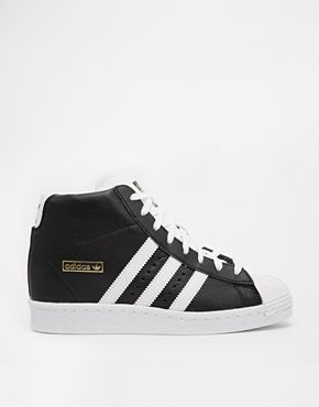 f43ba884fdae2e Trendy Women s Sneakers   Adidas Originals Superstar Concealed Wedge ...