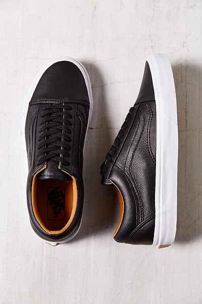 Vans Old Skool Premium Leather Low-Top Women's Sneaker