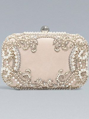 Zara beaded clutch:)  This is one of the most beautiful purses I've ever see...