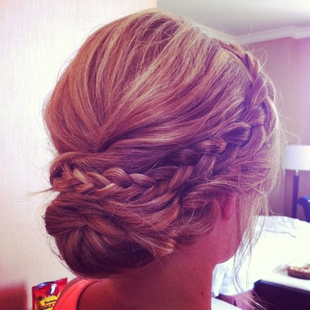 Wedding Hairstyle: Hair and Make-up by Steph