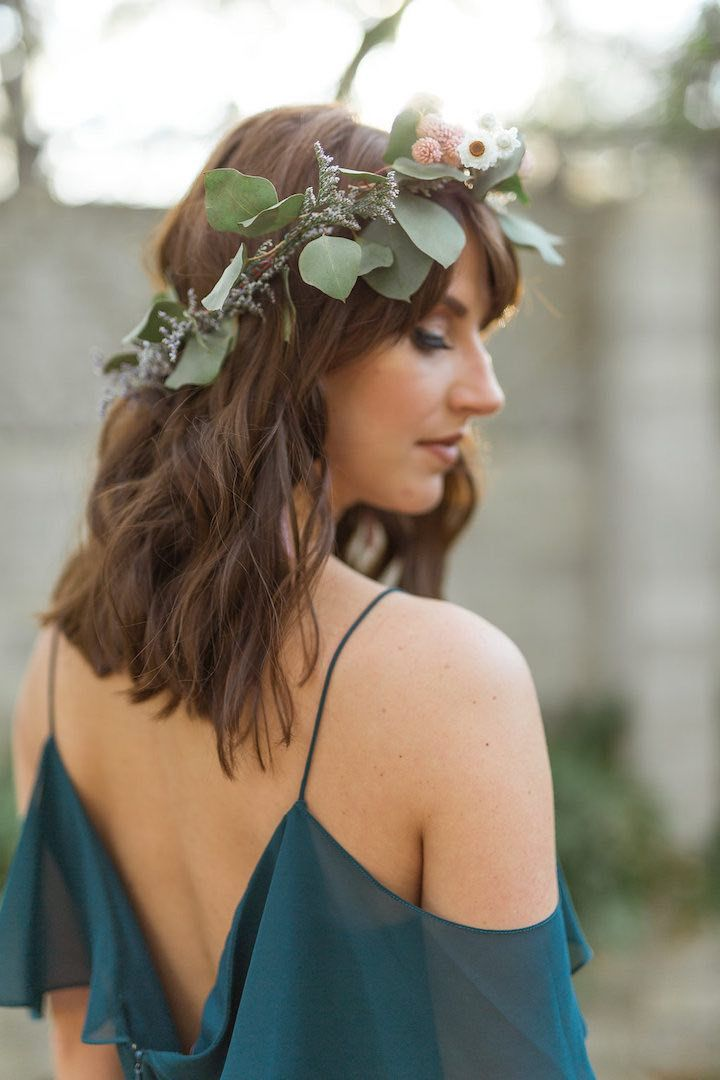 Romantic Florida Wedding Inspiration with Gem Tones