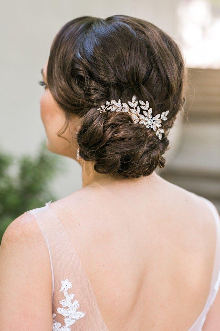 Wedding Hairstyle Inspiration - Photo: Jasmine Lee Photography