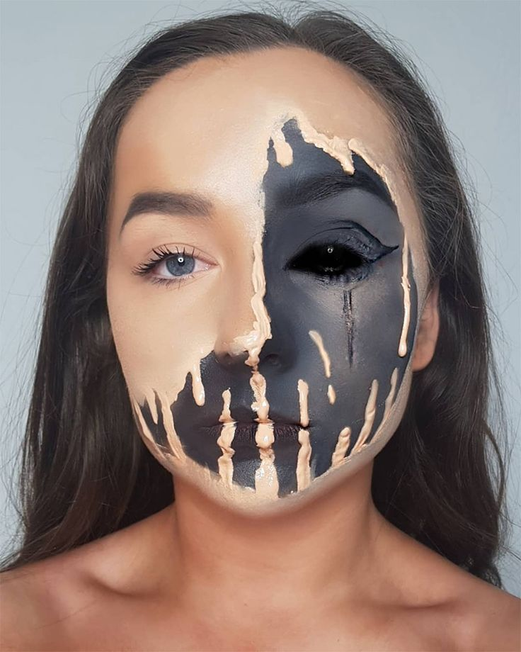 101 Mind-Blowing Halloween Makeup Ideas to Try This Year - theFashionSpot