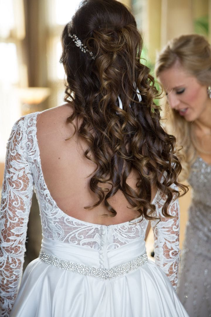 Featured Photographer: Cristina G Photography; Wedding hairstyles ideas.