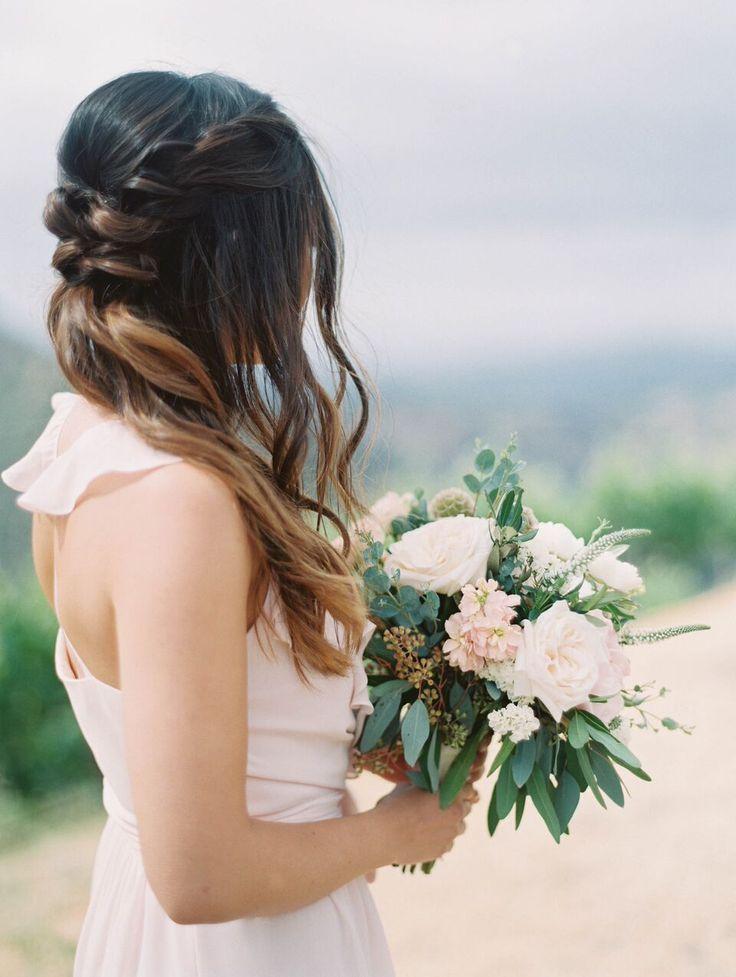 Featured Photographer: Esther Sun Photography; wedding hairstyle idea