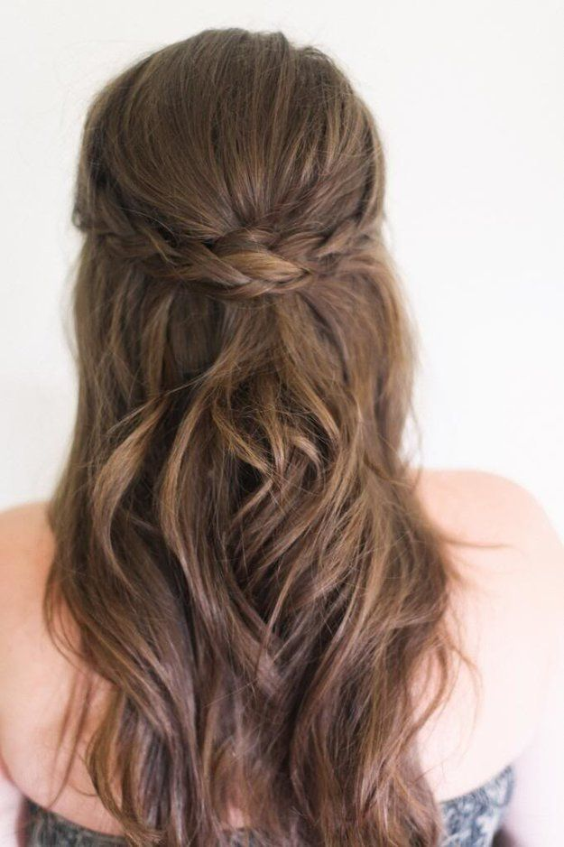 Hairstyles For Long Hair How To Do Simple Hair With Braids