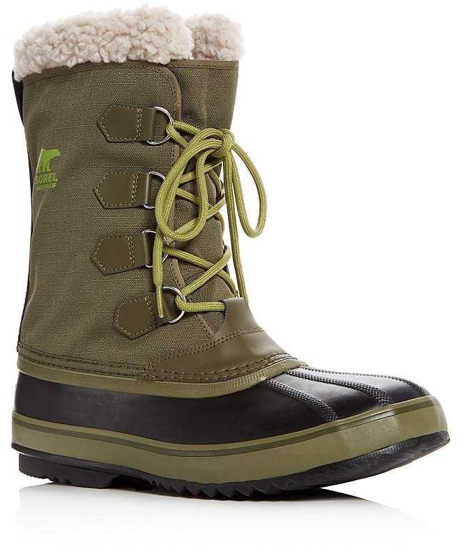 Sorel Men's 1964 Pac Nylon Waterproof Boots