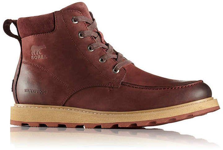Sorel Men's MadsonTM Moc Toe Waterproof Boot