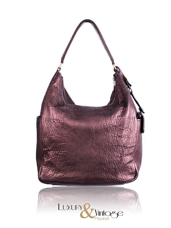 Yves #SaintLaurent Bronce Leather #MultiMulty #Hobo #handbag #bags available at ...