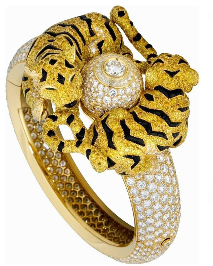 @espritjoaillerie. ✨Tigers In Love✨Cartier Bracelet ✨Turn Around The Sun...