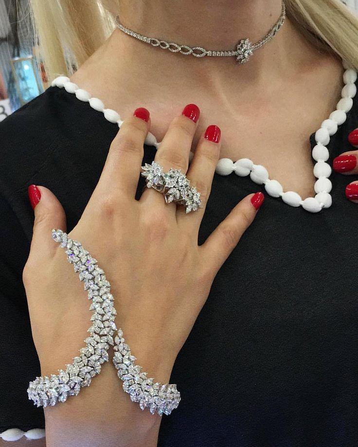 Exquisitely elegant Yeprem Maadanian diamond jewellery - for audaciously confide...