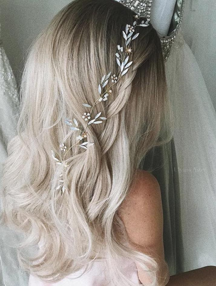 Featured Hair: Courtesy of Ulyana Aster; www.ulyanaaster.com; Wedding hairstyle ...