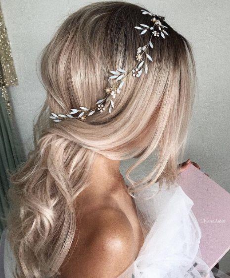 Featured Hairstyle: Courtesy of Ulyana Aster; wedding hair styles idea; www.ulya...