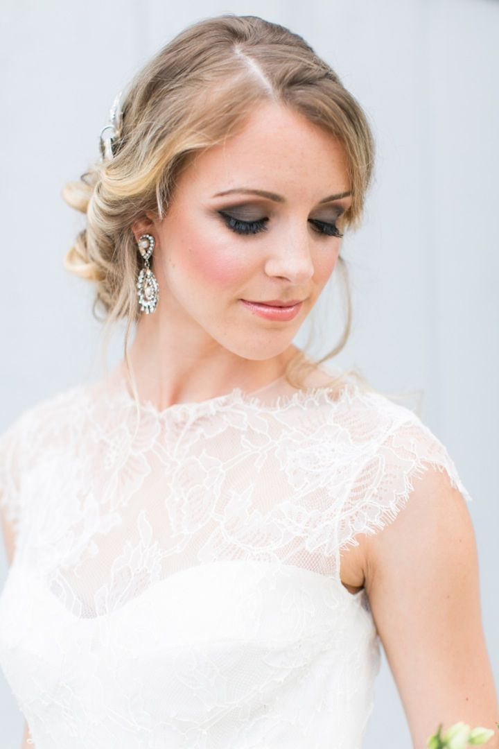 Featured Photographer: Amalie Orrange Photography; Wedding hairstyle idea.