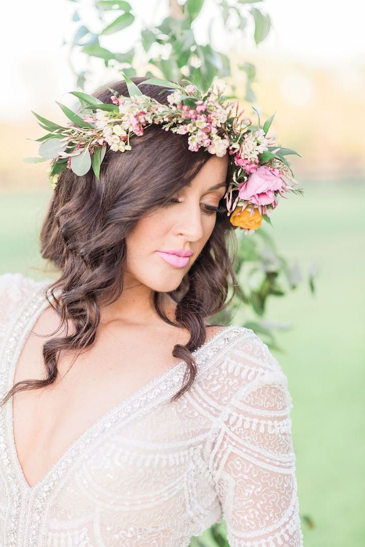 Wedding Hairstyle Inspiration - Photo: Rachel Elaine Photography