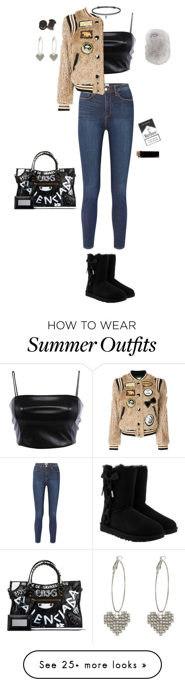 "6e9368b56d8 Summer Outfits   ""My Outfit 9"" by punk-babe-31 on Polyvore featuring  L Agence"