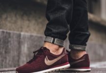 finest selection d8e8d eed02 The Best Men s Shoes And Footwear   ❤ ❤ ❤ Nike Air Pegasus  83 Leather - Night  Maroon Malt availabl... - Fashion Inspire   Fashion inspiration ...