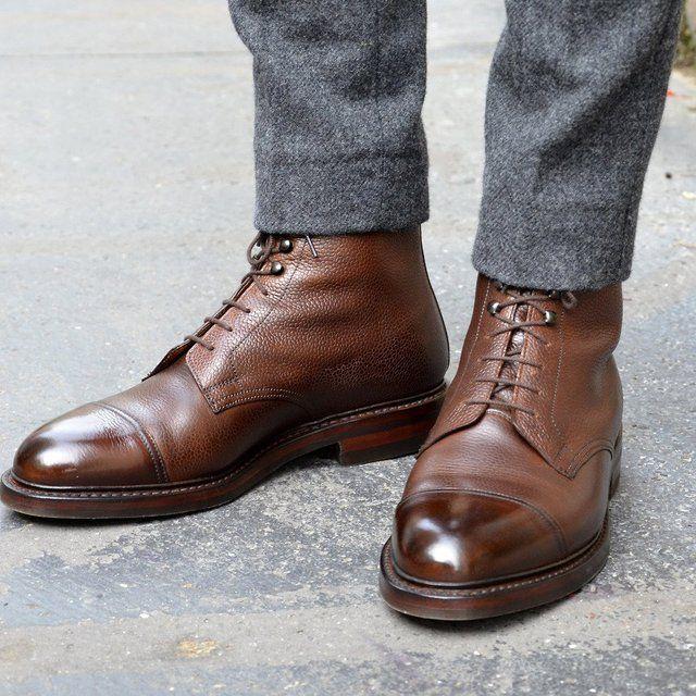 Outstanding footwear.
