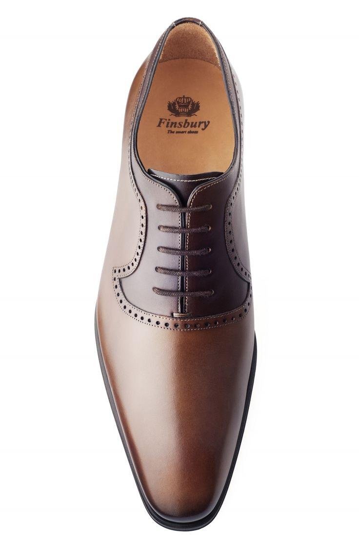 Richelieu Preston Cognac - Finsbury Shoes