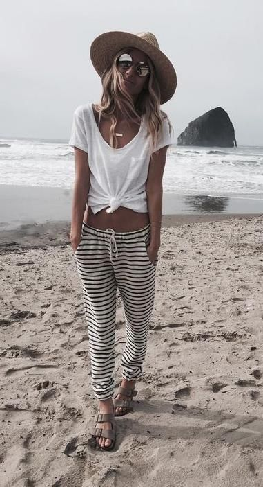 Beach casual.                                                                   ...