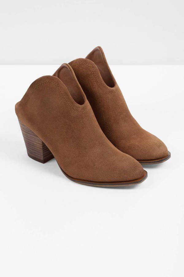 "4ca0bdfe6 Search ""Chinese Laundry Kelso Camel Suede Mules"" on Tobi.com! perfect shoes  for music festivals boho style bohemian western comfy low block heel suede  ..."