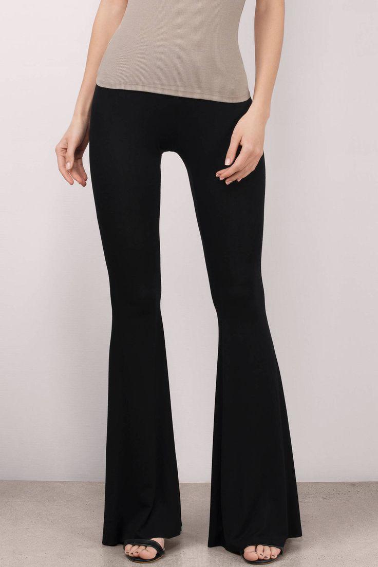"9fb2de5ad9e9 Search ""Ivanna Black Pants"" on Tobi.com! flare bell bottom trendy retro  pants boho bohemian  ShopTobi  fashion  summer  spring  festival Music  festival ..."