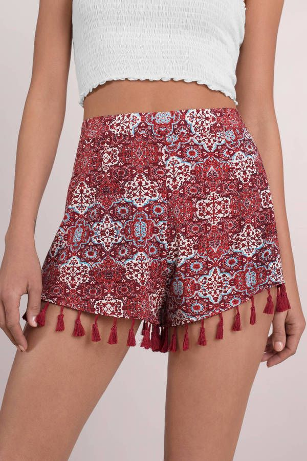 Lana Tassel Play Shorts