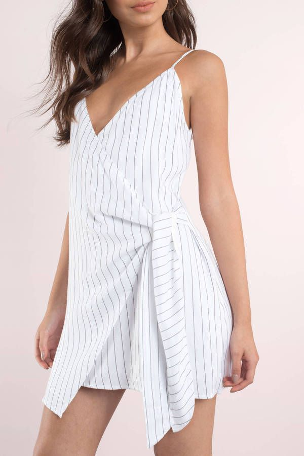Stripe To The Point Dress