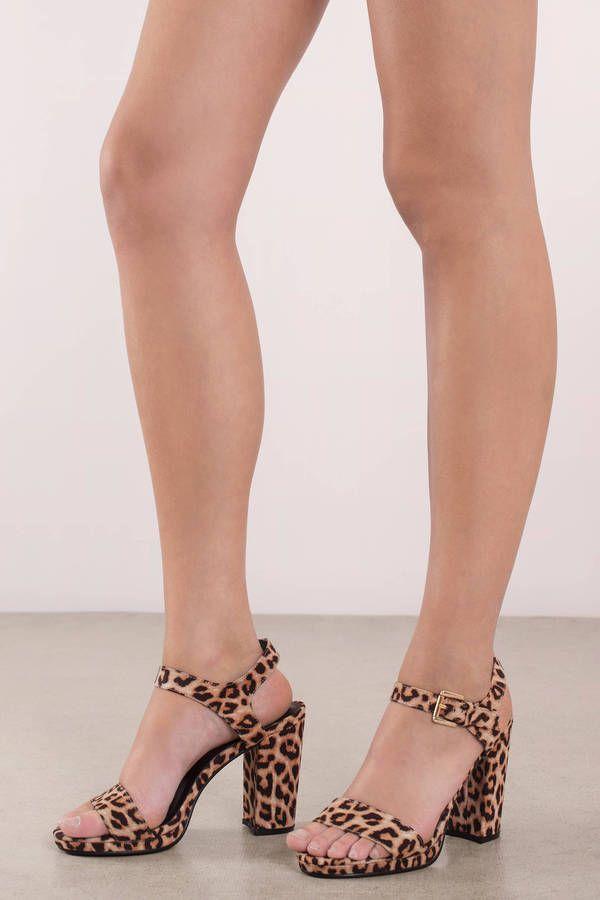 Wild Thang Leopard Print Heels