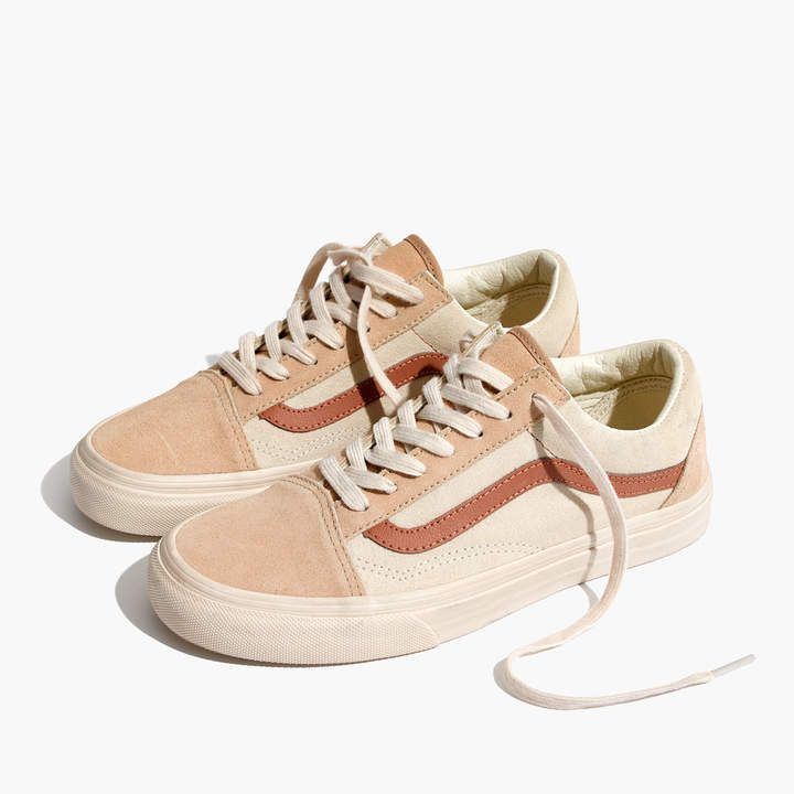 Madewell x Vans® Unisex Old Skool Lace-Up Sneakers in Camel Colorblock #ad