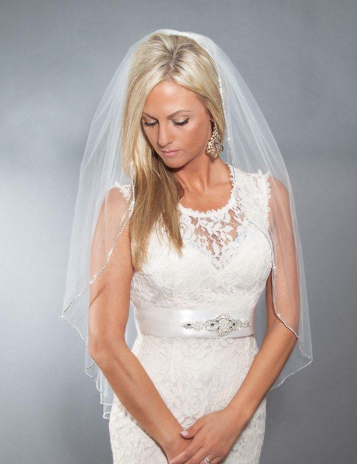 Wedding Hairstyle Inspiration - Veil: Blanca Veils
