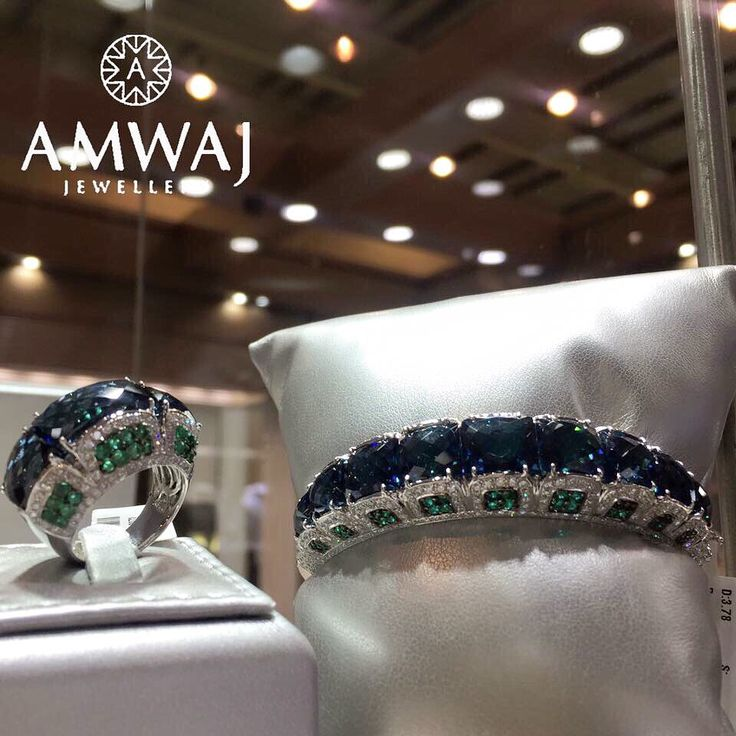 This is what you get from Amwaj Jewellery when you combine style with luxury ا...
