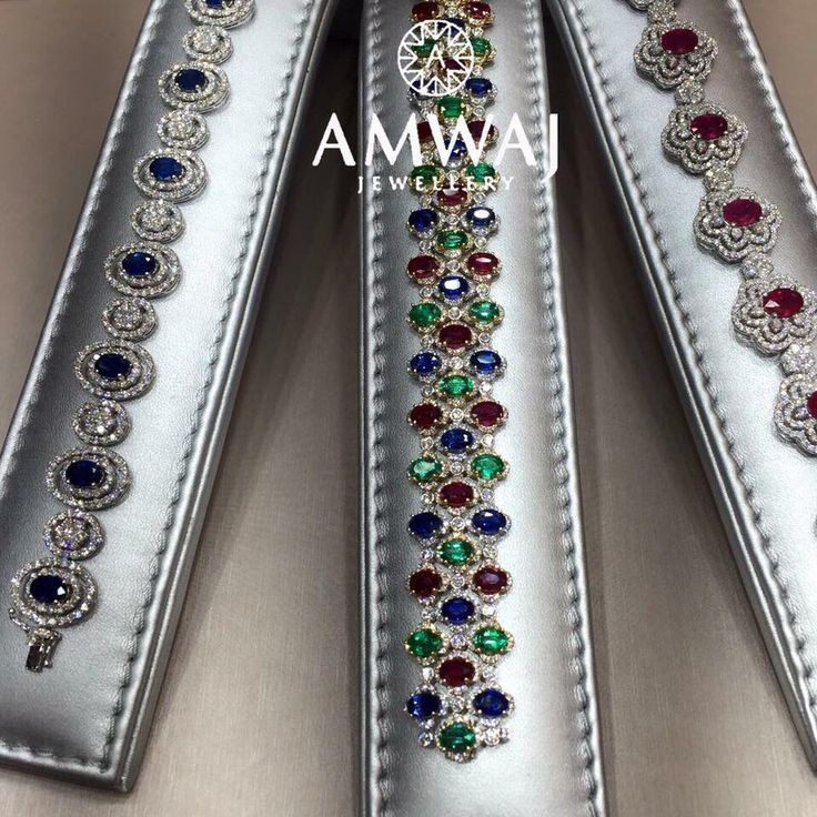 Which one of these beautiful bracelets from Amwaj Jewellery would you choose to ...