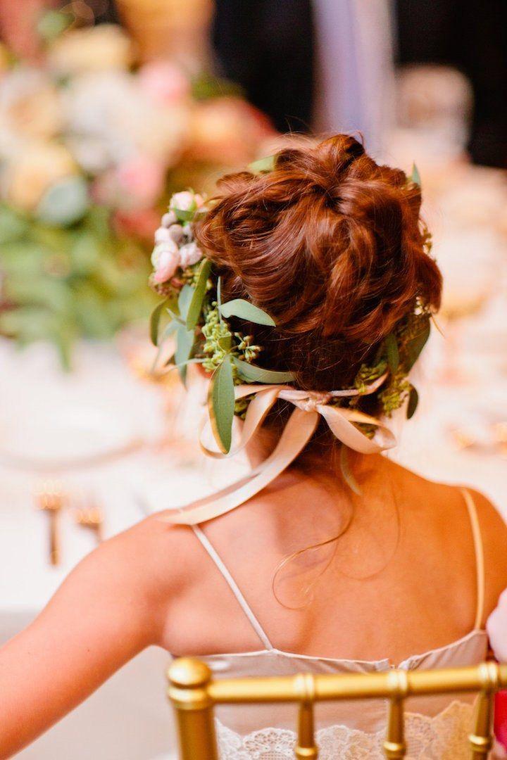 Featured Photographer: Cassandra Eldridge: wedding hairstyle idea