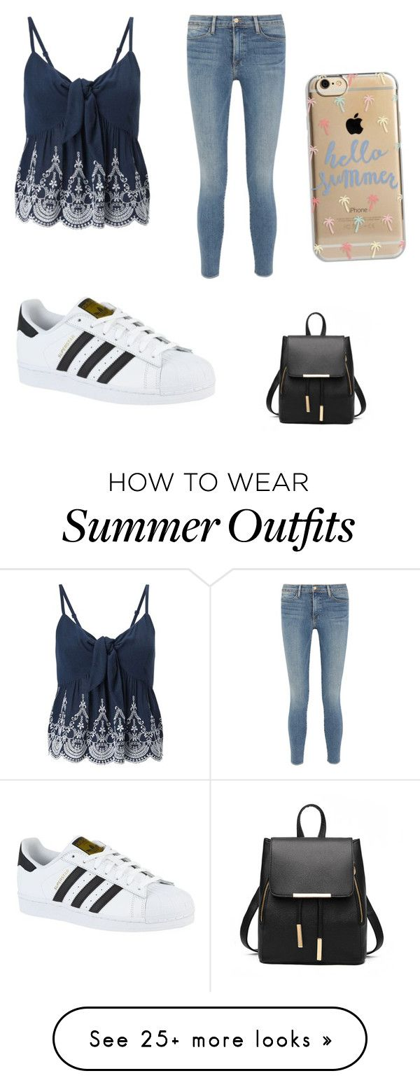 "size 40 6610d 7162e Collection Of Summer Styles. ""Casual Summer Outfit"" by lsantana13 on Polyvore  featuring Miss ..."