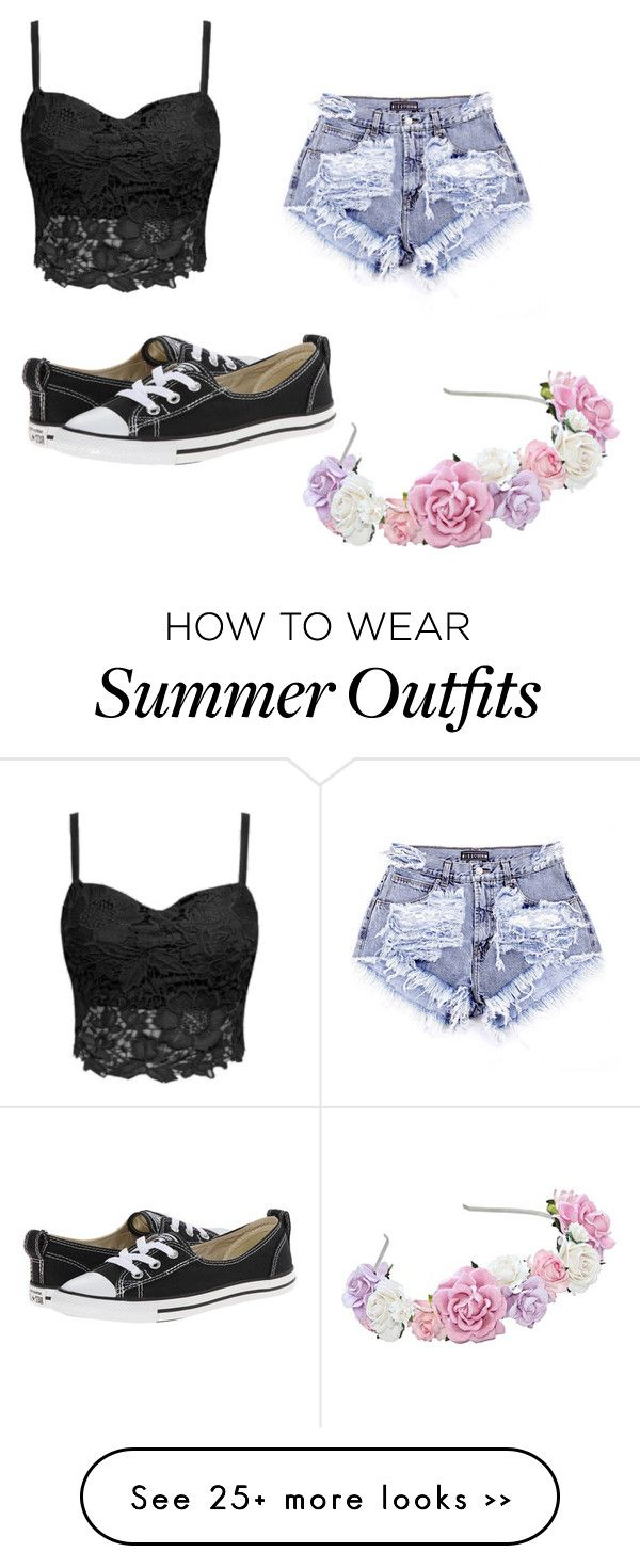 "47f9dd33cef8 Summer Outfits   ""Summer outfit 1"" by tumblr-and-starbucks on Polyvore"