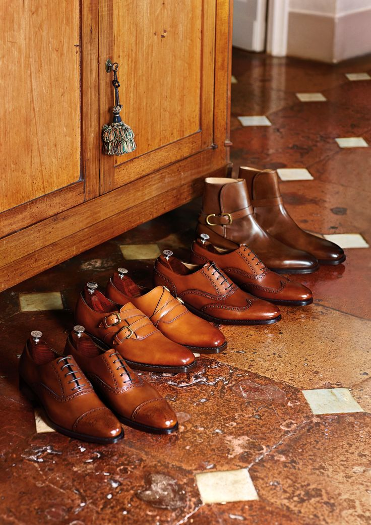 Benchmade and handcrafted: Ralph Lauren shoes for men