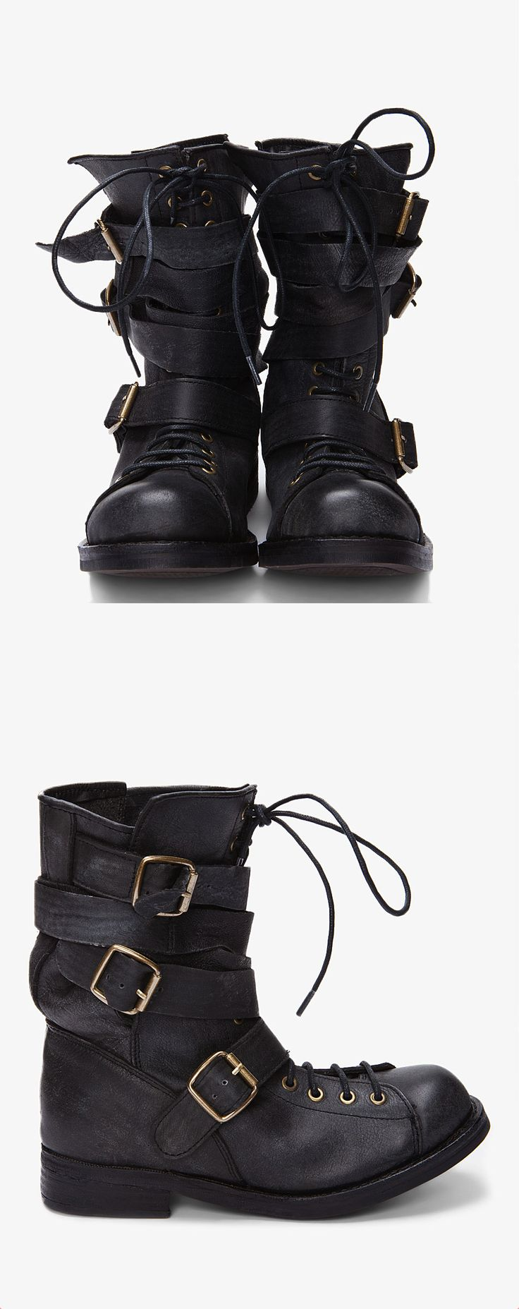 Black Fall Man Boots from Jeffrey Campbell.
