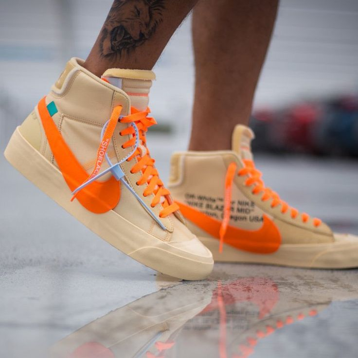 Fancy | Nike Blazer Mid Off-White All Hallow's Eve