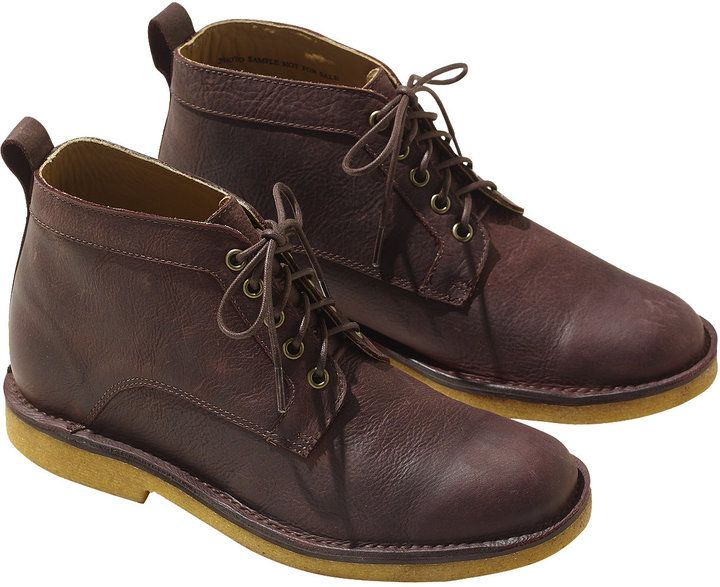 Signature Chukka Boots, Leather