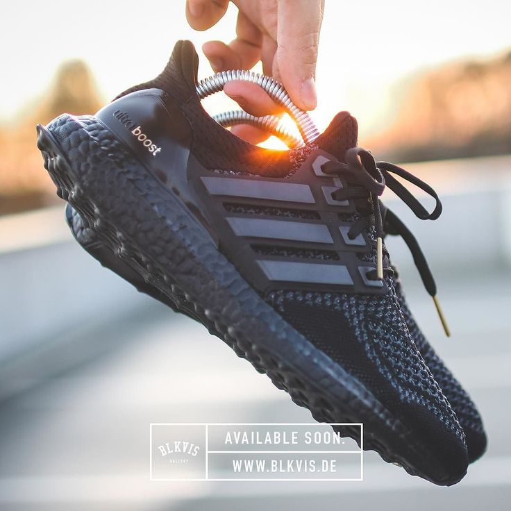 The 'Adidas Ultra Boost All Black' is Available Soon at www.blkvis.de __________...