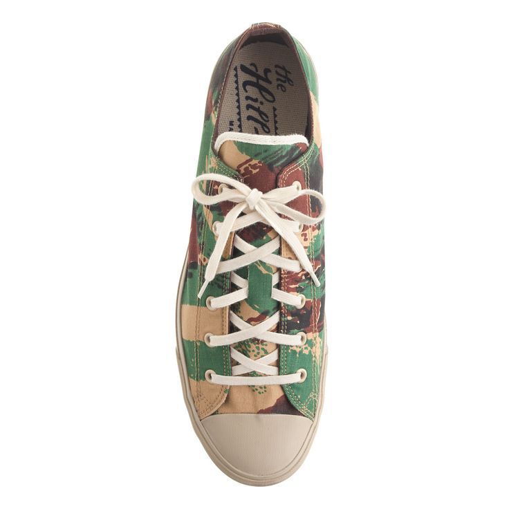 The Hill-side® French lizard camo sneakers : sneakers | J.Crew