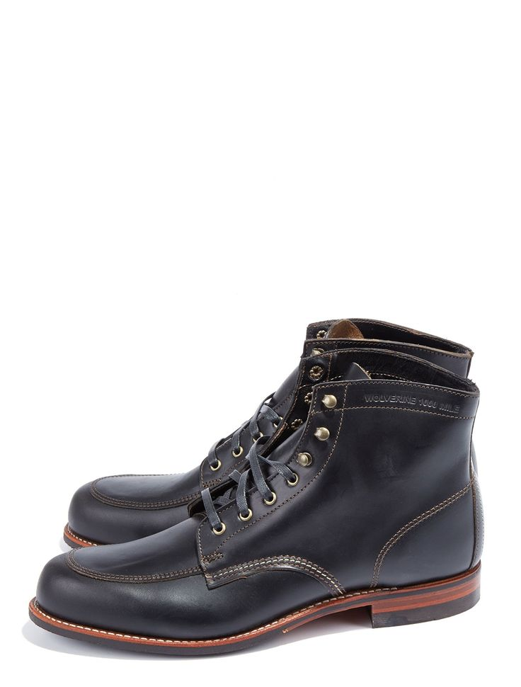 Wolverine Courtland 1000 Mile Boot - Walk 1,000 Miles in these terrific boots fr...