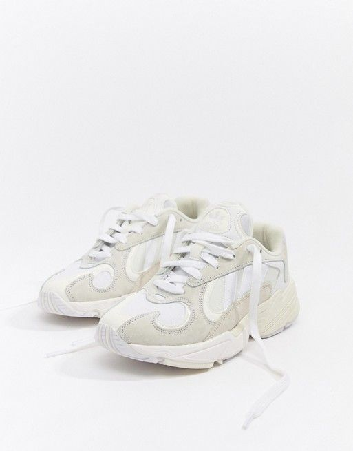 adidas Originals Yung'1 Trainers In Off White