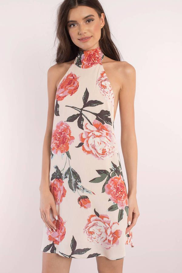 Faith Floral Print Shift Dress
