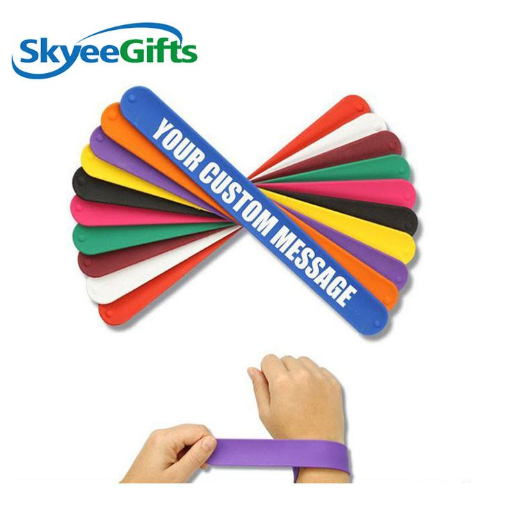 supply fast delivery silicone slap wristband   #siliconewristbandwithraiselogo #...