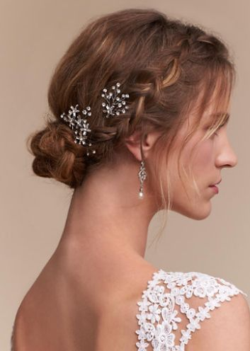 Wedding Hairstyle Inspiration - Hairpiece: BHLDN