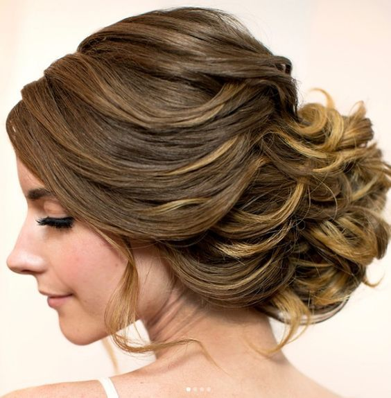 Featured Hairstyle: Hair and Makeup by Steph www.hairandmakeup...; Wedding hairs...